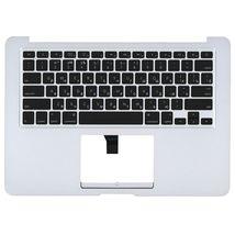 Клавиатура для ноутбука Apple MacBook Air (A1369) 2010+ Silver с топ-панель, RU (горизонтальный энтер)
