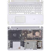 Клавиатура Sony (SVF15), White, (White Frame) RU