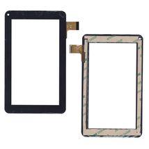 Тачскрин (Сенсорное стекло) для планшета FM703906KD черный для Supra M721G / 713G, X-Digital Tab 701, 702, ENOT E102, Nanotab NT-7085