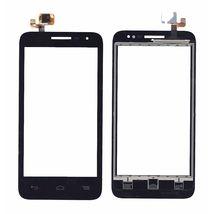 Тачскрин (Сенсорное стекло) для смартфона Alcatel POP D5 5038D черное