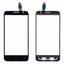 Тачскрин (Сенсорное стекло) Alcatel One touch Idol 2 Mini 6016D черное
