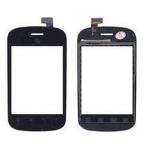 Тачскрин (Сенсорное стекло) для смартфона Fly IQ235 Uno черный