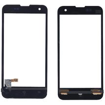 Тачскрин (Сенсорное стекло) для смартфона Xiaomi Mi-2 черный