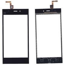 Тачскрин (Сенсорное стекло) для смартфона Xiaomi Mi-3 черный