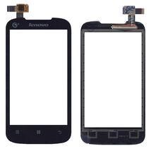 Тачскрин (Сенсорное стекло) для смартфона Lenovo IdeaPhone A369i черный