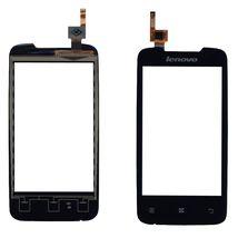 Тачскрин (Сенсорное стекло) для смартфона Lenovo A390 черный