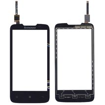 Тачскрин (Сенсорное стекло) для смартфона Lenovo A820 черный
