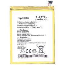 Оригинальная аккумуляторная батарея для планшета Alcatel TLp032B2 One Touch POP 7 P310A 3.7V White 3240mAh 11.99Wh