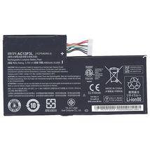 Оригинальная аккумуляторная батарея для планшета Acer AC13F3L 3.75V Black 4960mAhr 18.6Wh