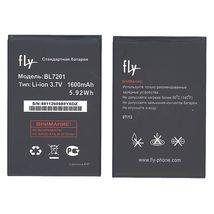 Оригинальная аккумуляторная батарея для Fly BL8601 3.7V Black 1650mAh 6.105Wh