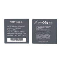 Оригинальная аккумуляторная батарея для смартфона Prestigio PAP4322 4322 Multiphone 3.7V Black 1500mAhr 5.55Wh