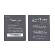 Оригинальная аккумуляторная батарея для смартфона Prestigio PAP4500 4500 Multiphone 3.7V Black 1850mAhr 6.85Wh