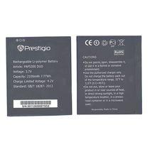 Оригинальная аккумуляторная батарея для смартфона Prestigio PAP5300 5300 Multiphone 3.7V Black 2100mAhr 7.77Wh