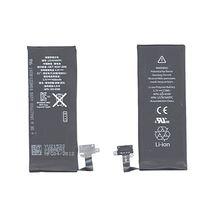 Оригинальная аккумуляторная батарея для смартфона Apple iPhone 4S Li-ion Polymer Battery 3.7V Black 1430mAhr 5.3Wh APN: 616-0580