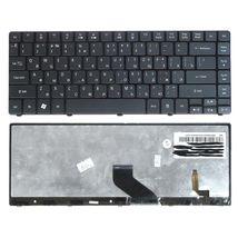 Клавиатура Acer Aspire (3810T) с подсветкой (Light), Black RU