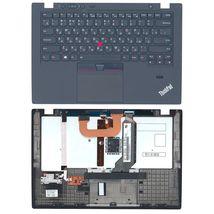 Клавиатура Lenovo ThinkPad (X1 Carbon) с подсветкой (Light), с топ панелью, с указателем (Point Stick) Black RU