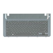Клавиатура Samsung (355V4C-S01) Black, с топ панелью (Gray), RU
