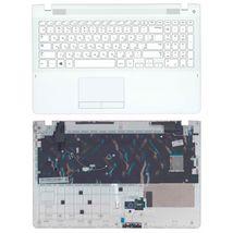 Клавиатура Samsung (370R4E) White, с топ панелью (White), RU