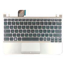 Клавиатура Samsung (NC110) Black, с топ панелью (Silver), RU