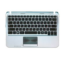 Клавиатура Samsung (NF310) Black, с топ панелью (Silver), RU