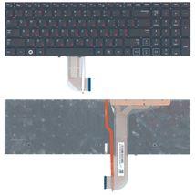 Клавиатура Samsung (RF710) с подсветкой (Light), Black, (No Frame) RU