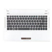 Клавиатура Samsung (Q330) Black, с топ панелью (White), RU