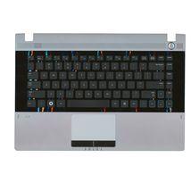Клавиатура Samsung (RC410) Black, с топ панелью (Gray), RU