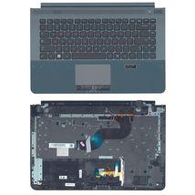 Клавиатура Samsung (RC420) Black, с топ панелью (Gray), RU
