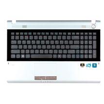 Клавиатура Samsung (RV511) Black, с топ панелью (Gray), RU