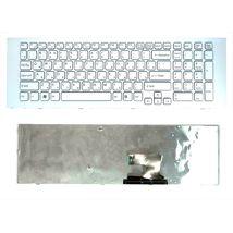 Клавиатура Sony Vaio (VPC-EJ) White, (White Frame), RU