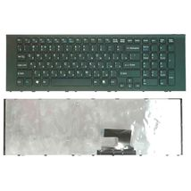 Клавиатура Sony Vaio (VPC-EJ) Black, (Black Frame), RU