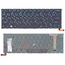Клавиатура Acer Aspire (R13) Black, с подсветкой (Light), (No Frame), RU