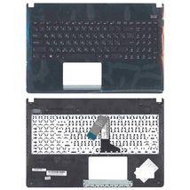 Клавиатура Asus (X501A) Black, с топ панелью (Black), RU