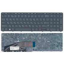 Клавиатура HP ProBook (450 G3) Black, (Black Frame), RU