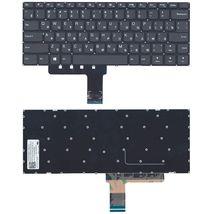 Клавиатура Lenovo IdeaPad (110-14IBR) Black, (No Frame), RU