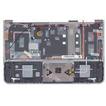 Клавиатура для ноутбука для ноутбука Samsung (900X3A) Black, с топ панелью (Silver), RU