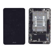 Матрица с тачскрином (модуль) Asus PadFone mini Station черный с рамкой