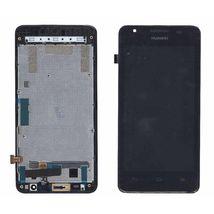 Матрица с тачскрином (модуль) для Huawei Ascend G510 с рамкой черный
