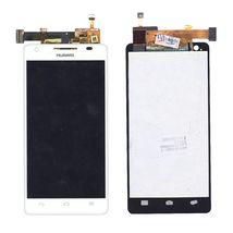 Матрица с тачскрином (модуль) для Huawei Honor 3 (модель HN3-U00) белый