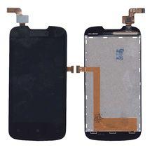 Матрица с тачскрином (модуль) для Lenovo IdeaPhone A690 черный