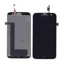 Матрица с тачскрином (модуль) для Lenovo IdeaPhone A859 черный