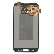 Матрица с тачскрином (модуль) для Samsung Galaxy Note 2 GT-N7100 синий