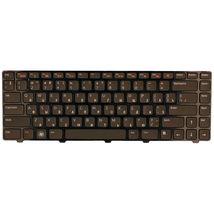 Клавиатура Dell Vostro 1440, 1450, 1540, 1550, 3450, 3550, V131, Inspiron 14R, 7520, N4050, N4110, M5040, M5050, N5040, N5050, XPS 15 (L501x, L502x) Black, (Black Frame) RU
