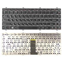 Клавиатура Lenovo IdeaPad (Y470) Black, (Gray Frame), RU