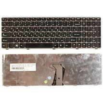 Клавиатура Lenovo IdeaPad (Z560, Z565, G570, G770) Black, (Gray Frame), RU