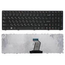 Клавиатура Lenovo IdeaPad (Z560, Z565, G570, G770) Black, (Black Frame), RU