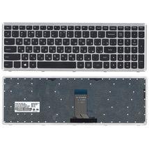 Клавиатура Lenovo IdeaPad U510, Z710 Black, (Silver Frame), RU