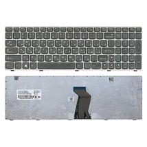Клавиатура Lenovo IdeaPad (G580, G585, Z580, Z585, Z780) Black, (Gray Frame), RU