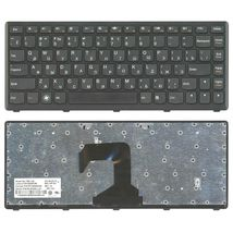 Клавиатура Lenovo IdeaPad (S300, S400, S405) Black, (Black Frame), RU