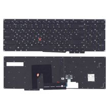 Клавиатура Lenovo ThinkPad (S531, S540) с указателем (Point Stick) Black, (No Frame), RU